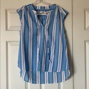 NWT Vineyard Vines Ocean Striped Shirt Bluejay
